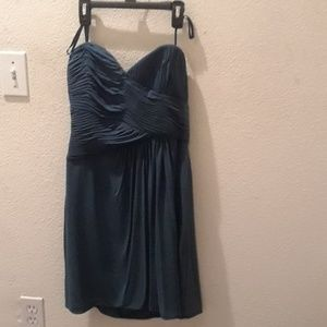 BCBG Maxaria teal dress